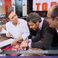 Teaser de la semaine prochaine. Gérard Hernandez et Jérôme Anthony perturbe l'épreuve... (épisode de Top Chef du 22 mars 2011)