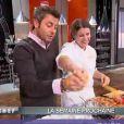 Teaser de la semaine prochaine. Jérôme Anthony perturbe la cuisine de Stéphanie... (épisode de Top Chef du 22 mars 2011)
