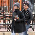 Cynthia Nixon dans les rues de NYC ( 14 mars 2011)