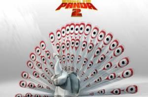 Kung Fu Panda 2: Jack Black et Angelina Jolie au top pour lutter contre un paon!
