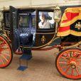 Les différents carrosses prévus pour le mariage du prince William et Kate Middleton le 29 avril 2011 à Londres sont prêts. A la sortie de l'église, en fonction de la météo, ils pourraient emprunter le coche vitré.