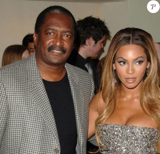 Matthew Knowles et sa fille Beyoncé en 2007