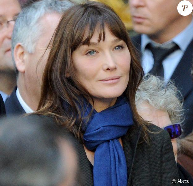 Carla Bruni-Sarkozy le 19 janvier 2011