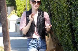 Emma Roberts : Star dans quelques jours, elle affiche des jambes à damner !