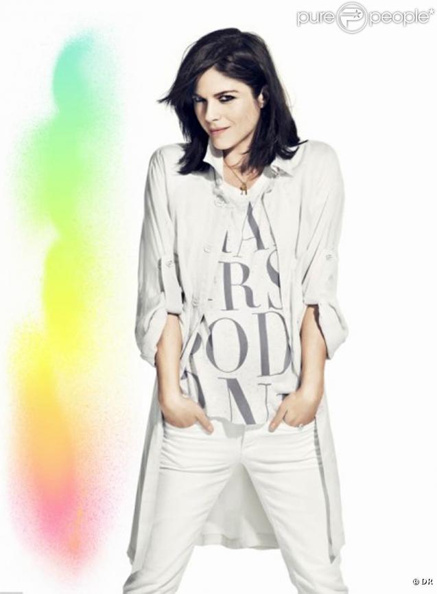 Campagne H&M Fashion against Aids 2011 avec Selma Blair
