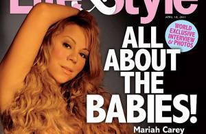 Mariah Carey : Enceinte et nue, elle se la joue Demi Moore dans la presse US !