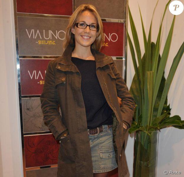 Aurélie Vaneck en décembre 2009.
