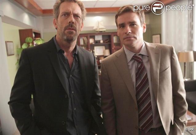 Hugh Laurie et Robert Sean Leonard alias Dr Wilson