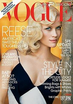 Reese Witherspoon pour Vogue US - Mai 2011