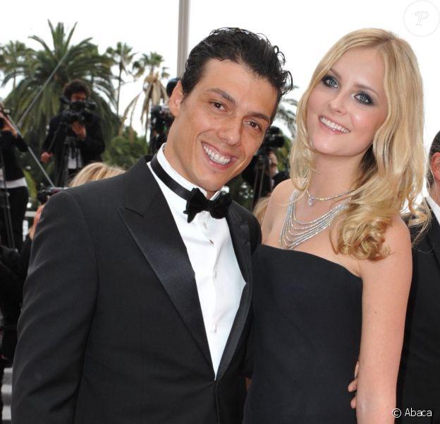Taïg Khris et sa compagne Petra Silander au 63e Festival de Cannes en mai 2010