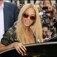 Beyoncé et Jay-Z déjeunent à L'Avenue à Paris le 20 avril 2011 en compagnie de Daniel le fils de Solange Knowles