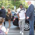 Beyoncé et Jay-Z arrivent à L'Avenue à Paris le 20 avril 2011