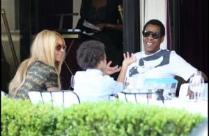 Beyoncé : Un déjeuner en famille à Paris avec son neveu et son mari Jay-Z !