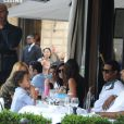 Beyoncé et son mari Jay-Z sont à Paris le 20 avril 2011