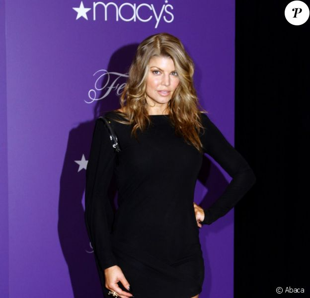 La chanteuse Fergie lors du lancement de sa collection printemps-été de chaussures disponibles chez Macy's à New York le 21 avril dernier