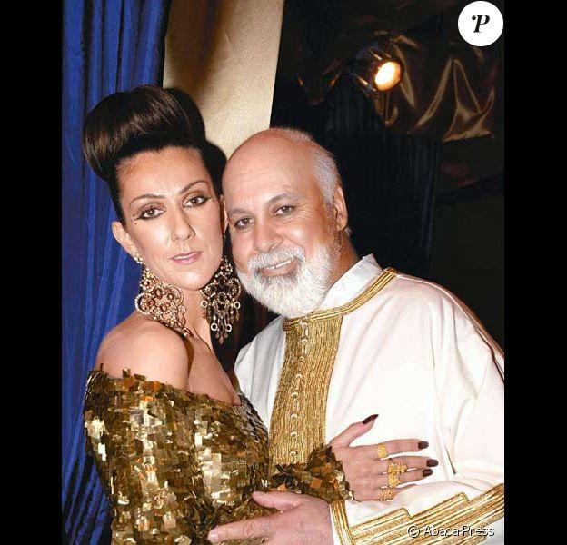 Celine Dion et Rene Angelil recoivent leurs voeux de mariage a Las Vegas