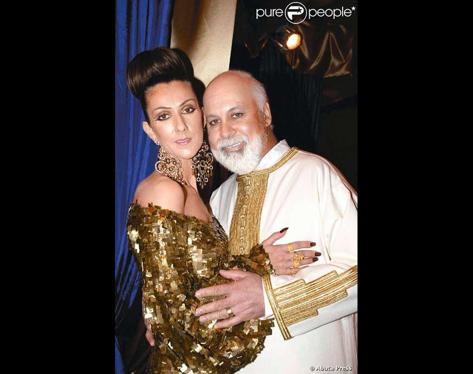 celine dion et rene angelil recoivent leurs voeux de mariage a las vegas - Renouvellement Voeux Mariage Las Vegas