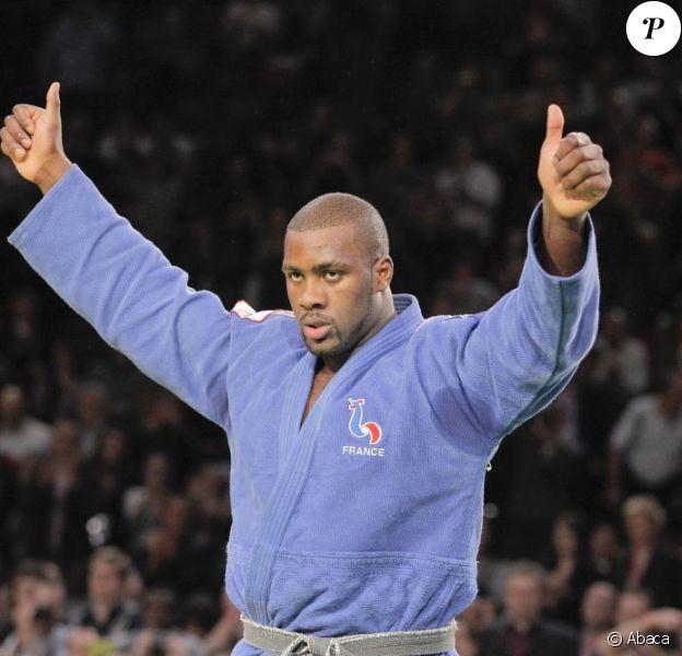 Teddy Riner est devenu champion d'Europe de judo (catégorie des plus de 100 kg) ce samedi 23 avril 2011 ! Ici, en pleine action lors d'une compétition en février 2011
