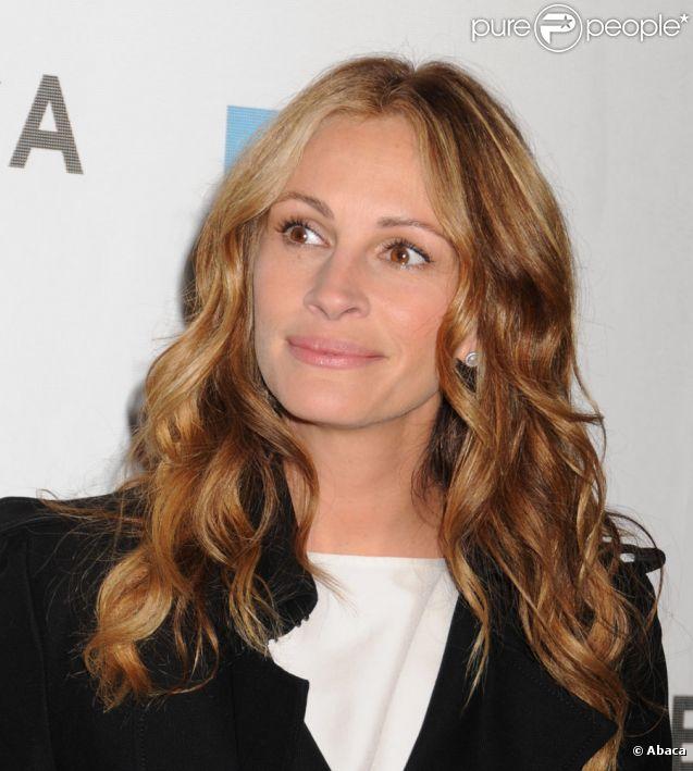 Julia Roberts lors du festival du film de Tribeca à New York le 23 avril 2011 pour la projection de Jesus Henry Christ