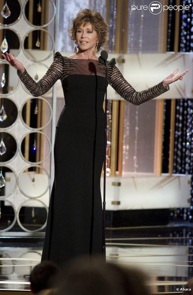 Jane Fonda le 16 janvier 2011