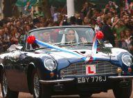Mariage de William et Catherine: Just married, ils s'échappent en DB6 cabriolet!