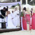 Lorenzo Lamas, 53 ans, a épousé la très ravissante Shawna Craig, 23 ans, en cinquième noce, à Cabo San Lucas, au Mexique, le 30 avril 2011.