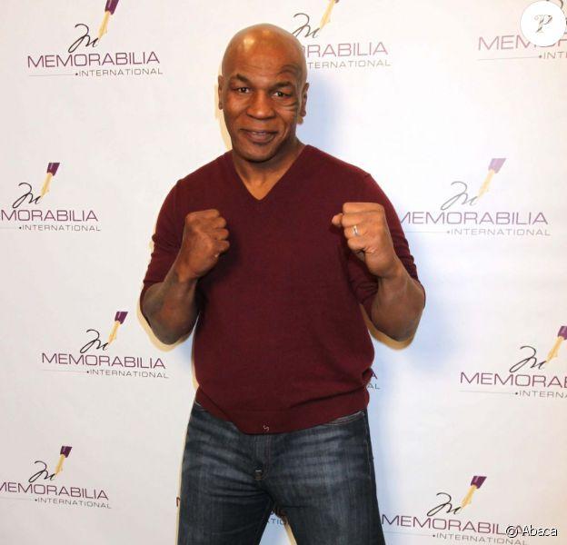 Mike Tyson en février 2011