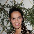 Elisa Tovati à la soirée organisée par la boutique Escada, le 2 mai 2011, à Paris.