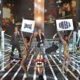 Le groupe Omega dans X Factor le 3 mai 2011 sur M6