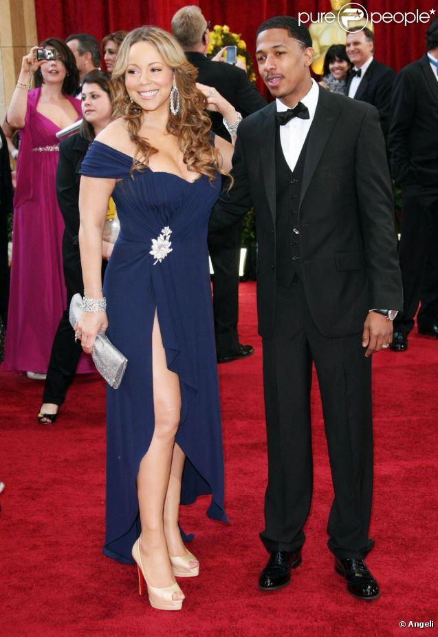 Mariah Carey et Nick Cannon en mars 2010.