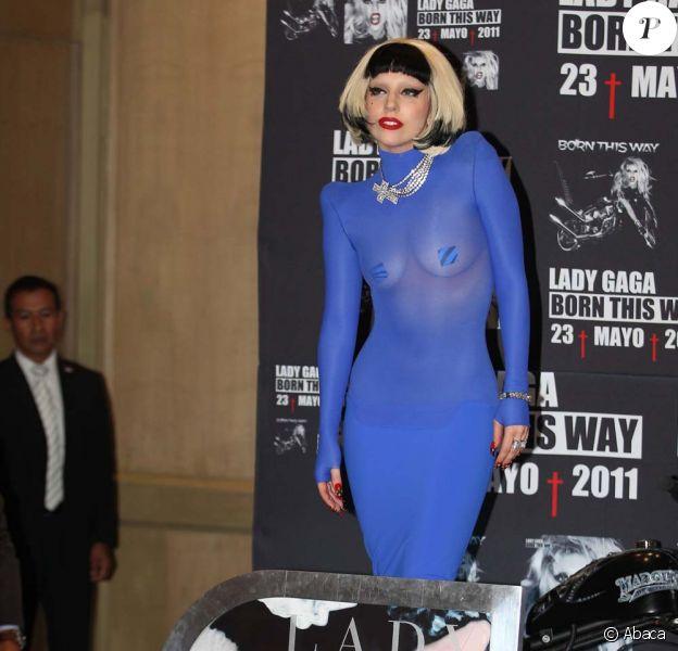 Lady Gaga, à Mexico, le 6 mai 2011.