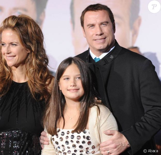 Kelly Preston, John Travolta et leur fille Ella Bleu Travolta bientôt en tournage de Gotti : Three Generations, de Barry Levinson.