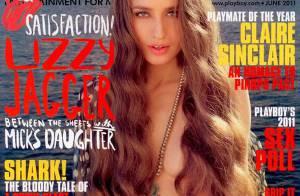 Lizzy Jagger : La fille de Mick Jagger et Jerry Hall se met à nu dans Playboy !