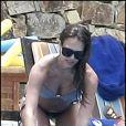 Jessica Alba enceinte passe quelques jours de vacances au Mexique à Cabo San Lucas, le 13 mai 2011