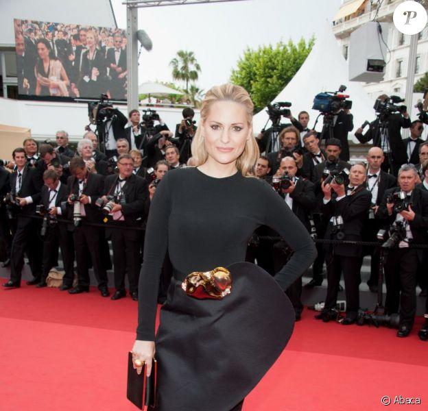Aimee Mullins lors de la projection de Midnight in Paris à Cannes lors du 64e Festival de Cannes le 11 mai 2011