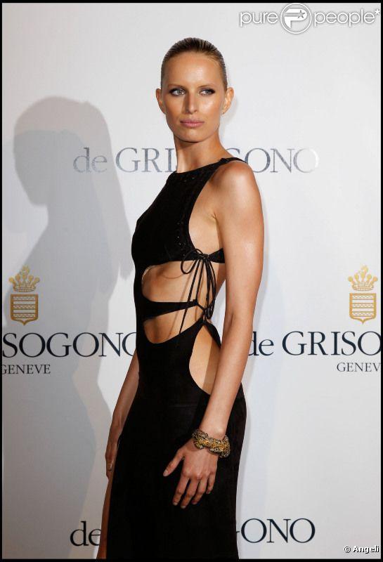 Karolina Kurkova sexy à souhait lors de la soirée de Grisogono le 17 mai à Cannes