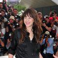 Charlotte Gainsbourg lors du photocall du film Melancholia au festival de Cannes le 18 mai 2011