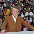 John Hurt lors du photocall du film Melancholia au festival de Cannes le 18 mai 2011
