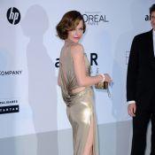 amfAR 2011 : Milla Jovovich sensuelle et amoureuse aux côtés de Freida Pinto !