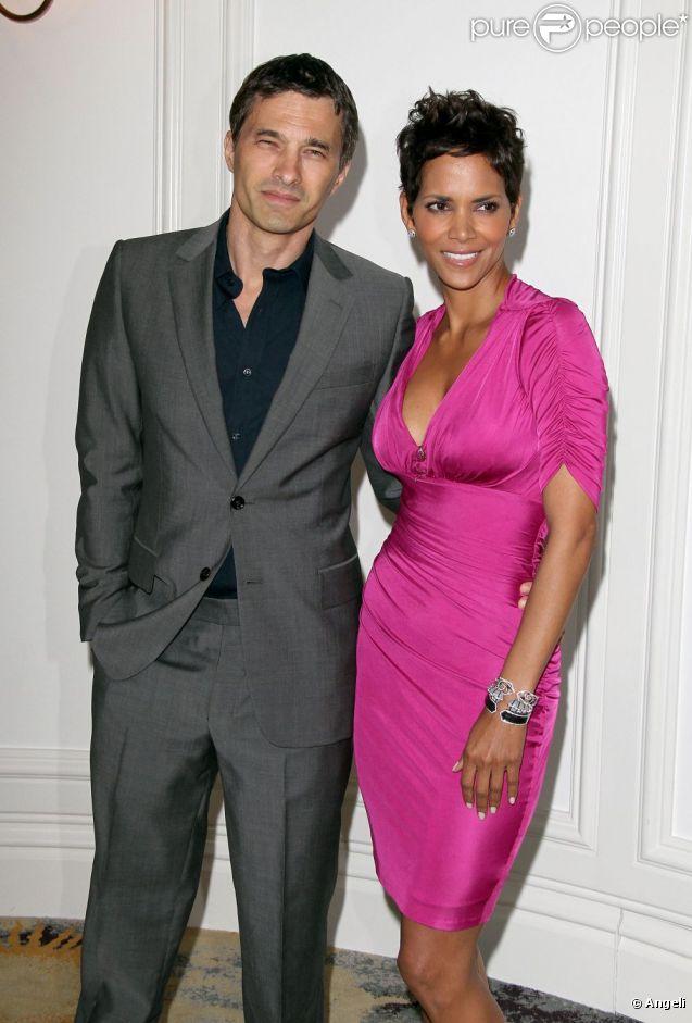 Halle Berry et Olivier Martinez en avril 2011.