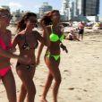Julie, Caroline et Daniela en maillots dans les Anges de la télé-réalité 2, Miami Dreams !