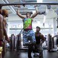 Marvin et le coach bodybuildé dans les Anges de la télé réalité, Miami Dreams du vendredi 27 mai 2011 sur NRJ 12.