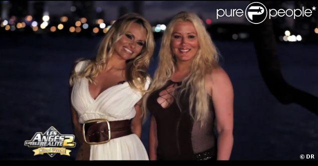 Loana et Pamela Anderson dans les Anges de la télé réalité, Miami Dreams du vendredi 27 mai 2011 sur NRJ 12.