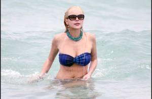 Lindsay Lohan : Un ultime shooting avant de purger sa peine...