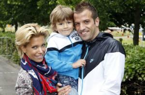 Rafael Van der Vaart fier de sa femme et de son fils : ils sont magnifiques !