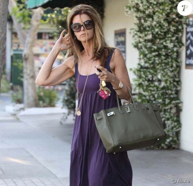 Maria Shriver à Brentwood (Los Angeles), le 30 mai 2011.