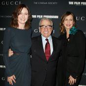 Martin Scorsese jubile aux bras d'Emily Mortimer et de Vera Farmiga !