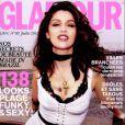 Laetitia Casta en couverture du magazine Glamour