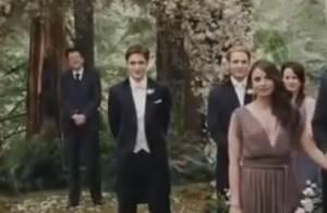 Twilight 4 : Les premières images du mariage de Bella et Edward !