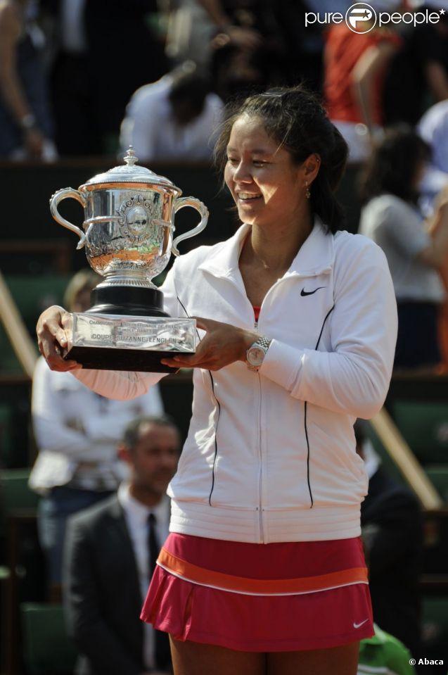 Li Na a battu Francesca Schiavone lors de la finale Dames de Roland Garros le 4 juin 2011